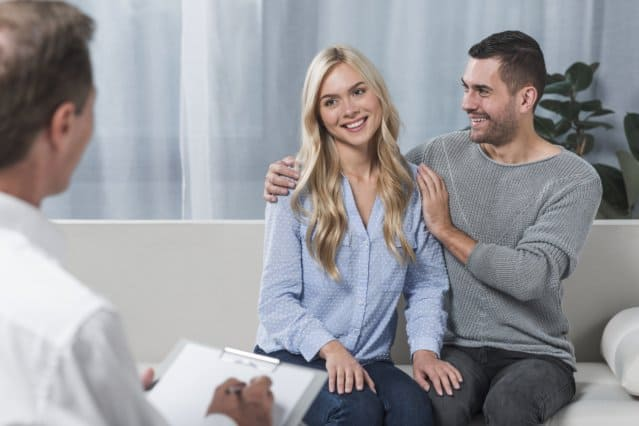 Psychologist in Mission Viejo - happy couple